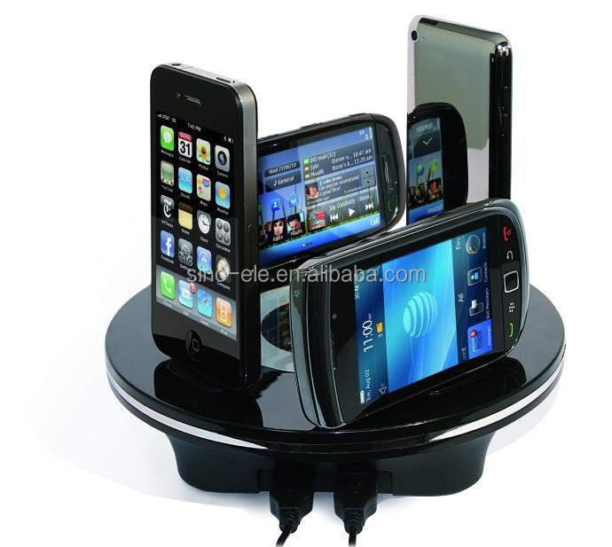 multifunctional wireless charging station for all brand mobiles