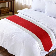 Hospital hotel textile polished white 60x60 bedding fabric