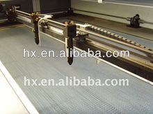2012 hot new Rabbit Cloth laser cutting machine with Double heads