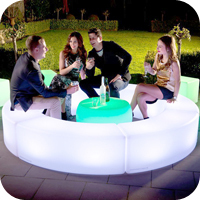 Remote Control Led Cube Magic Furniture/ Led Light Cube/ Led Cube Stools