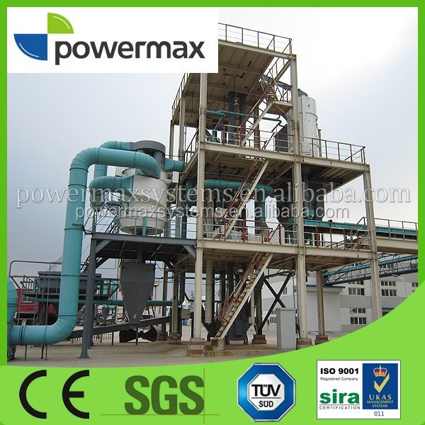 Quality CHP wood chips gasification power generating sets