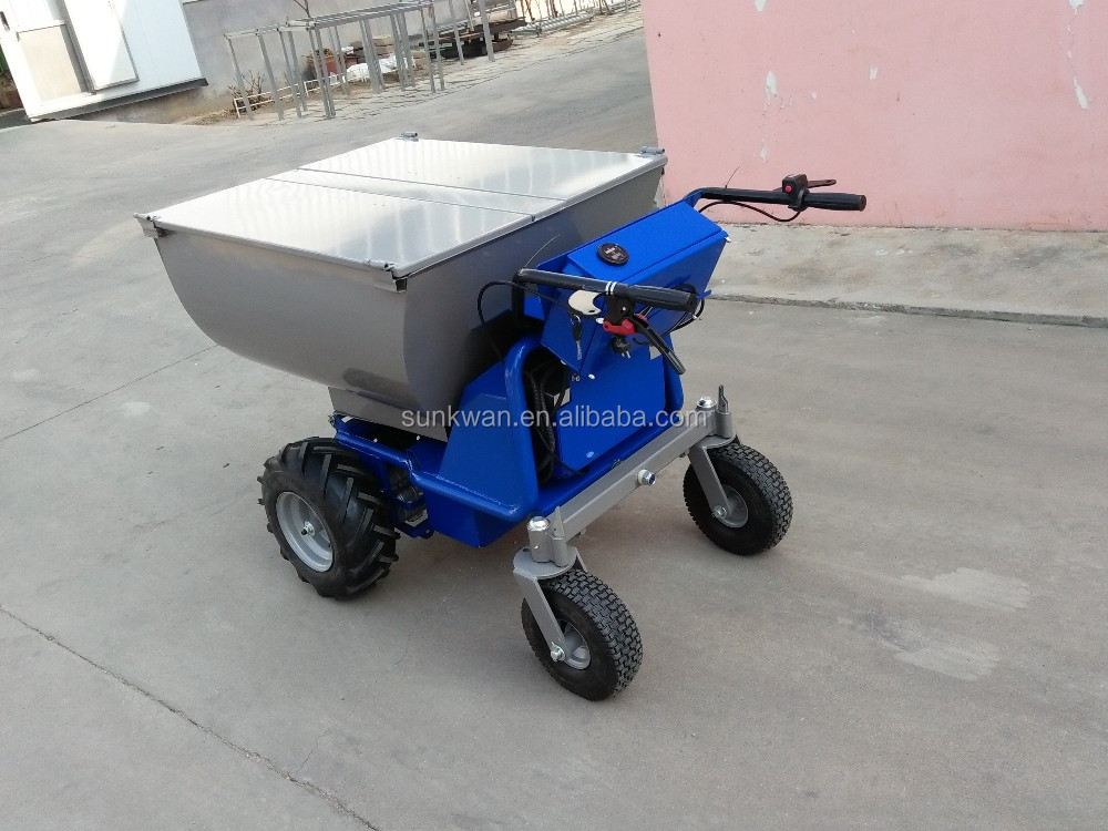 New designed electric wheelbarrow with motor and brake