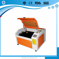 2016 Factory Manufacturer 80w 100w 6090 1390 co2 lager scale fabric laser cutting machine with auto cad software