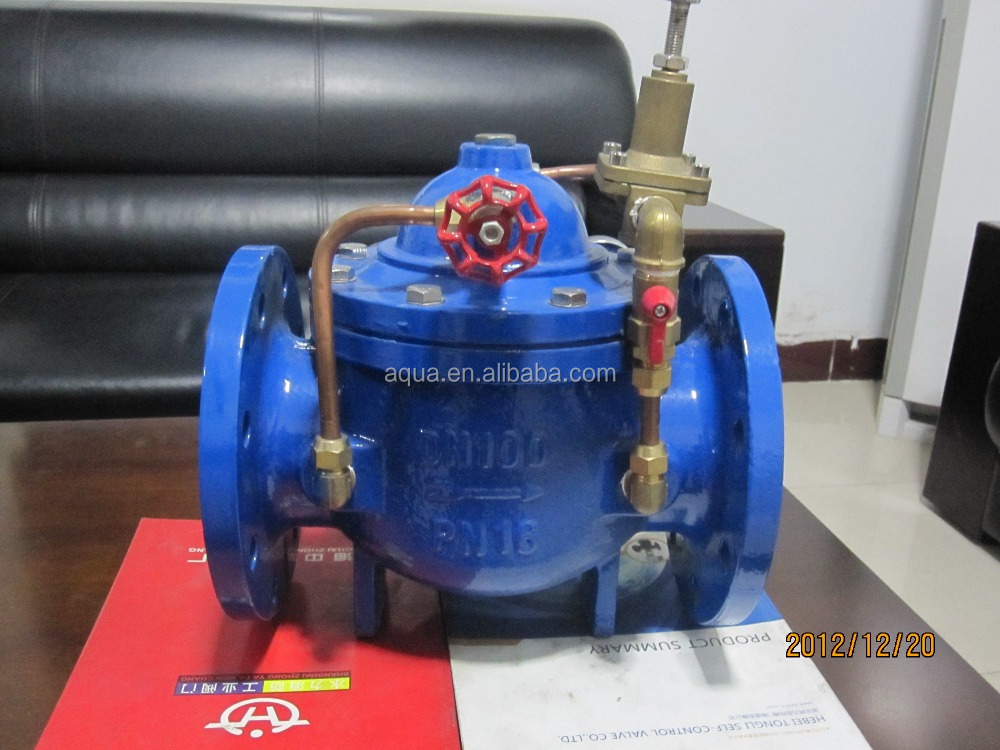 DN50 to DN600 Hydraulic Control Valves PN 25/16/10 for irrigation,construction
