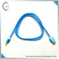 2A High Quality nice feel micro usb 2.0 data cable nylon braided