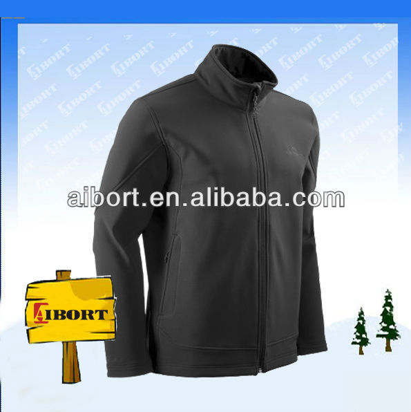 JHDM-3552 Face New style high quality softshell jacket mens Black Waterproof Softshell Jacket
