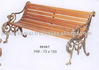 Cast Iron Patio Bench