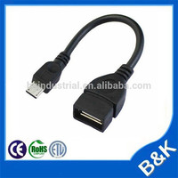benin 5pin mini usb male to usb a female cable Extension Cable