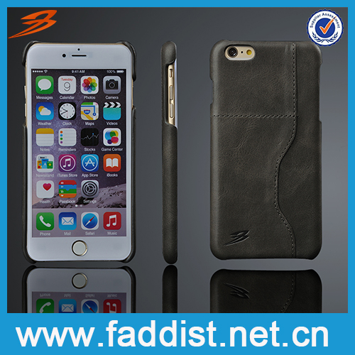 slim handmade leather cell phone case for iphone 6s