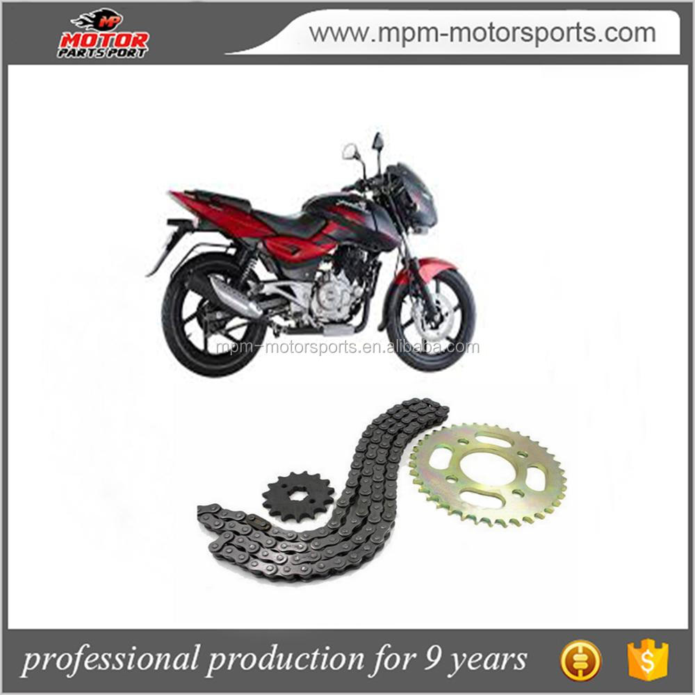 Motorcycle Chain Sprocket Kit used for Bajaj pulsar 180