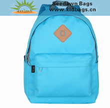 Quanzhou Backpacks Factory OEM ODM Big Volume Maufacturing Unisex Promotional Simple Day Backpack for Boys Girls