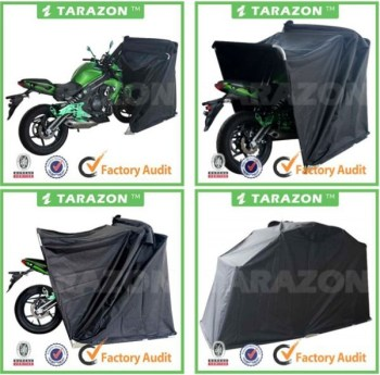Folding garage motorcycle cover waterproof buy motorcycle waterproof motorcycle waterproof - Motorcycle foldable garage tent cover ...