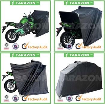 Folding garage motorcycle cover waterproof buy - Motorcycle foldable garage tent cover ...