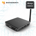ott tv box S905X 2G RAM 16G eMMC MXQ CLK android 6.0 tv box up to 7.1 plus OTA update