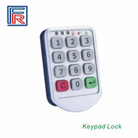 Zinc Alloy Electronic password keypad locker digital cabinet lock for office