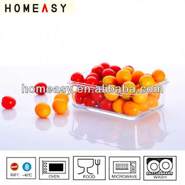 heibei glass lock container hot sale