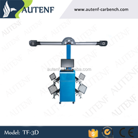 Wheel alignment machine price with 3D vision measuring technique