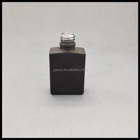 Hot Sale!!!glass soap foam pump bottle, black frosted glass dropper bottle for e liquid etc.
