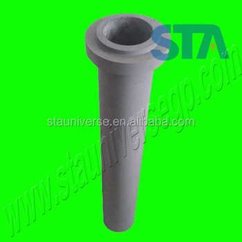 China super Sialon Silicon Nitride Riser Tube Stalk