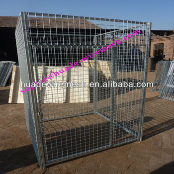 iron fence dog kennel/hot wire dog fence/1.8x1.2m dog fence