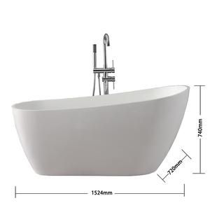 Matte Surface Home Spa The Most Comfortable Deep Bathtub, 52 Inch Bathtub