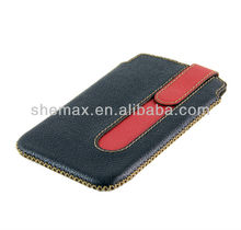 Leather Sleeve Case for sony xperia s lt26i