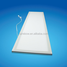 High quality pure white led panel 30x120 CRI>80 led flat panel light for commercial decoration