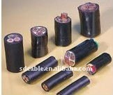 PVC insulation low voltage CCA power cable