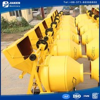 with CE approved used portable concrete mixers