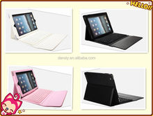PU leather case Wholesale new design for ipad keyboard case