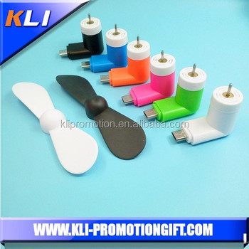 mini USB phone fan