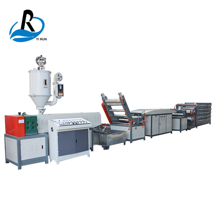 BS-BZD-65 woven bag polypropylene pp flat yarn making machine production line