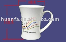 High-grade bone china cups with personalized design HFKV 60