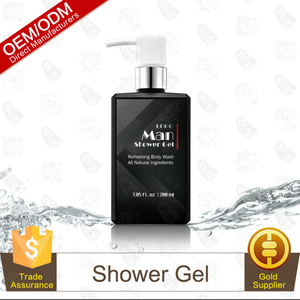 Bath Product 2017 Hot sale perfumed whitening man body wash shower gel