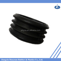 Jiangyin Huayuan supply high-quality EPDM( Silicone,NR,SBR,CR,NBR,FKM,recycled rubber) rubber products for rubber pipe end cap