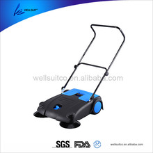 manual parking lot outdoor street sweeper