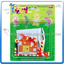 Mini Qute DIY Ironing Hama Perler Beans 3D Jigsaw Windmill Model building block pegboard educational toy (Accept OEM) NO.AT13A1