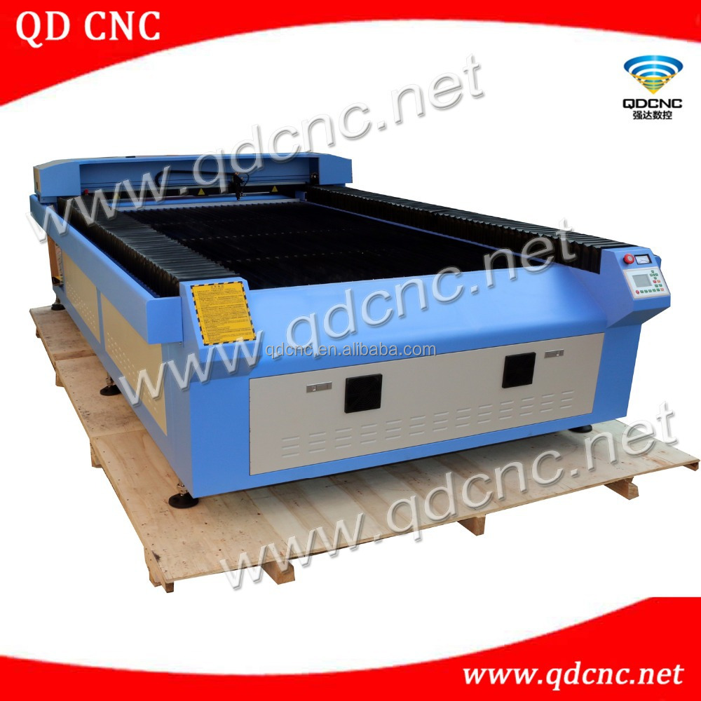 table top laser cutting and engraving machine /large size co2 laser cutter QD-1530 acrylic sheet co2 cutting 100w, 150w, 180w
