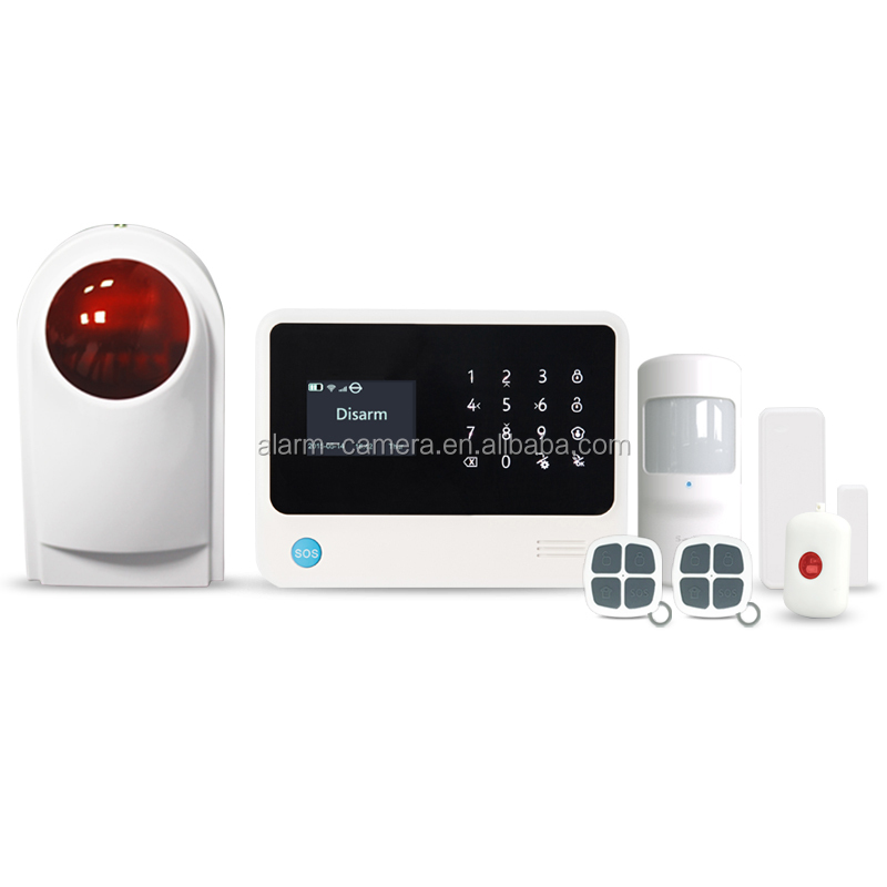2016 best sell wireless alarm sytsems,home security system,wifi/gsm security alarms with high quality