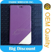 fast air delivery detachable wallet leather case for iphone 5