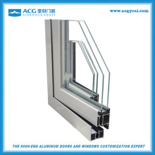 6063 5t industrial extruded aluminum profiles For Window and Door building materials