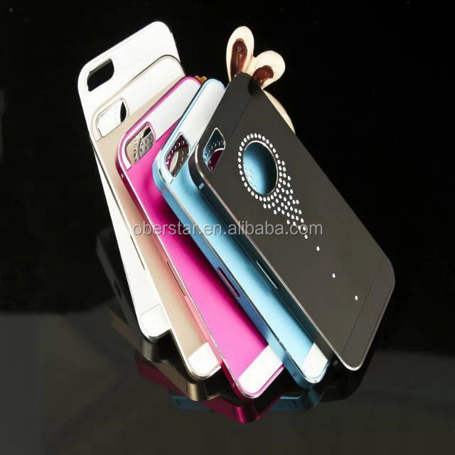 2014 Newest Phone Cover For Apple iPhone 5s Luxury Bling Rhinestone Diamond Case Cover