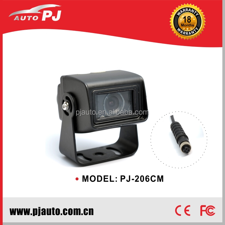 Commercial vehicle use Rear View Camera, 1/4'' Mini CCD Waterproof Trailer / Heavy Duty Back View / 12V Reverse Camera w/ IR