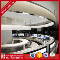 Unique Custom Design Rotating Display Furniture for Shopping Mall Cosmetic Kiosk