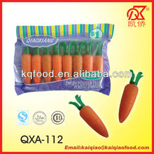 8.5g Carrot Shaped Novelty Powder Candy