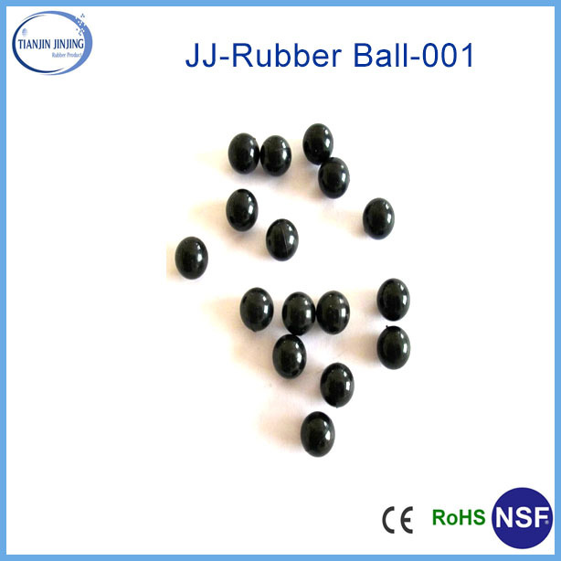 customized color nature hollow rubber ball
