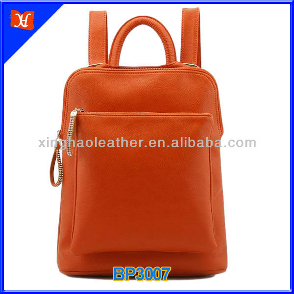 2013 many colors available plain diamante element multifunction japanese and korean fashion trend backpack