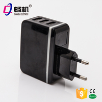 5V 3A 3 USB ports mobile phone charger