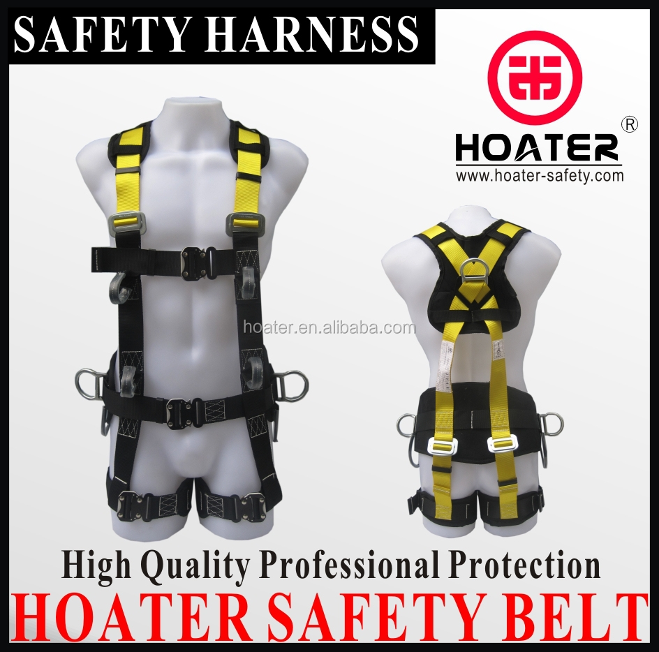 Hoater high quality climbing safety belt harness