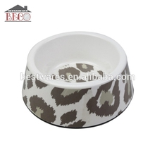 Wholesale cheap bulk melamine plastic pet bone dog bowl